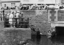 Baptism 1962. AfonLliedi. Felinfoel. Carmarthenshire. South Wales.